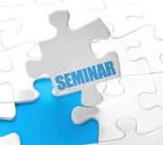 E-Learning-Seminare und Vorträge